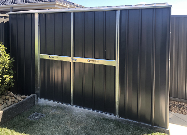 Gable garden Shed in the Corner