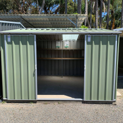 Garden Shed with double sliding doors