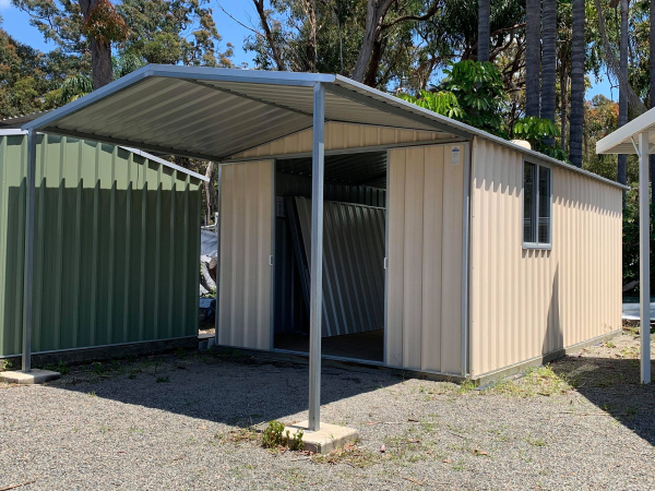 Work Shed with verandah.