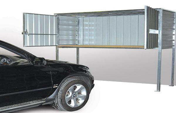 Over Car Bonnet Storage Locker by SteelChief