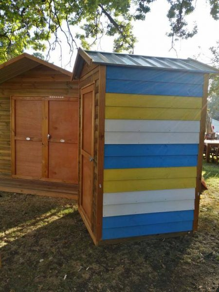 Bay Box Timber Shed