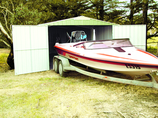 Boat Storage Shed