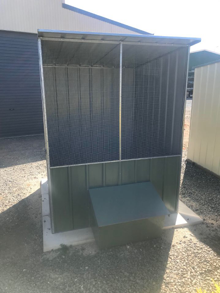 Skillion Chook House with Layer Box