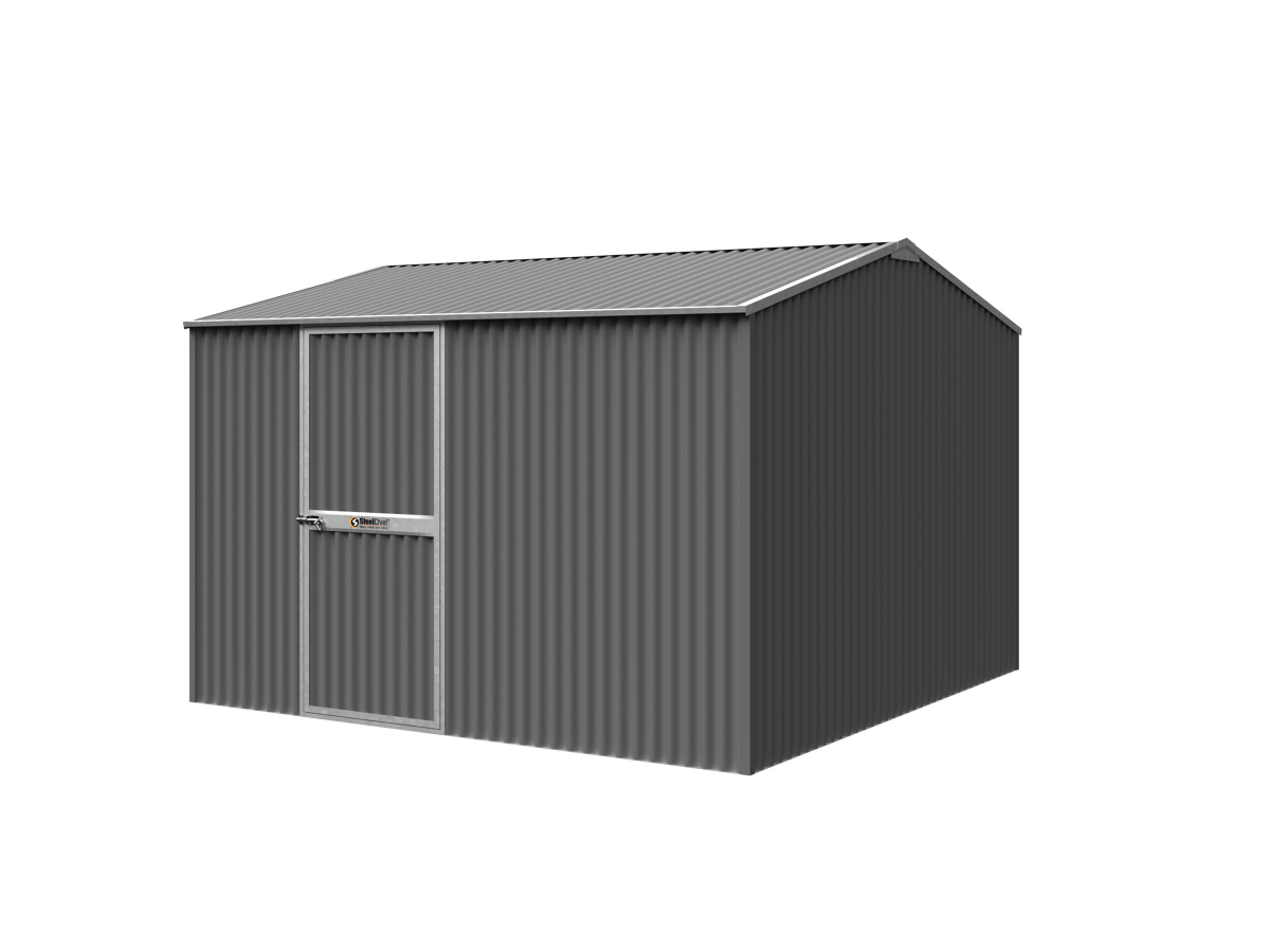 Corrugated Garden Shed With Gable Roof