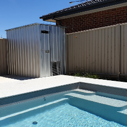 Pool Sheds, Filter and Pump Covers title=