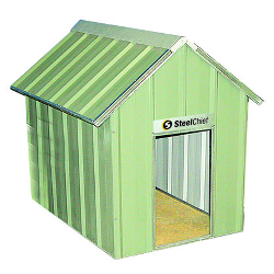 Metal Dog Kennels & Houses title=