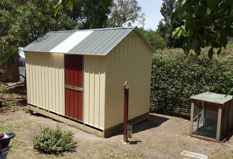 Garden Shed by SteelChief, with Heritage Roof