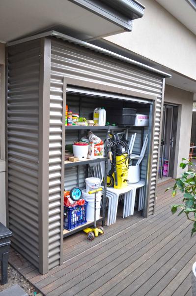 Roller Door Storage Shed