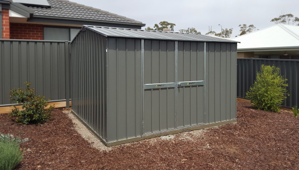 Heavy Duty Garden Shed with Gable Roof
