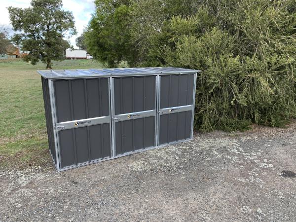 Garbage Bin Storage Shed