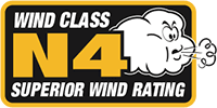 N4 Wind Rating For Strong Sheds