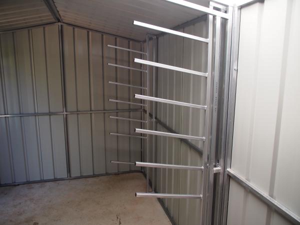 Storage racks for surfboards
