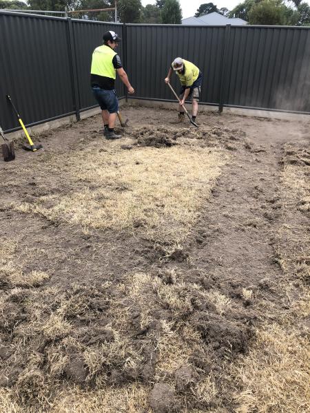 Garden Shed Site Preparation