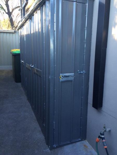 Narrow Storage Locker