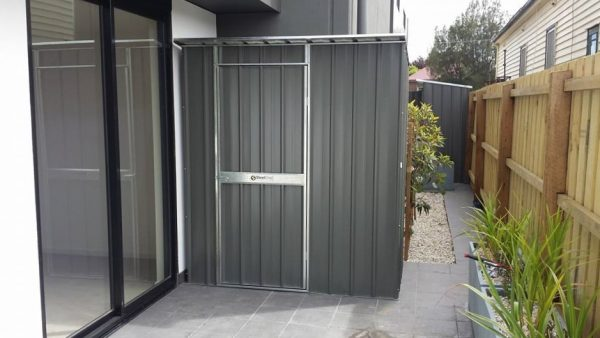 Garden Shed at Side Of House