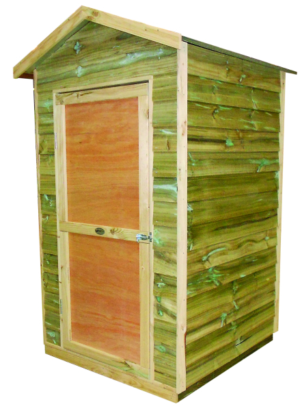 Bay Box Small Timber Shed