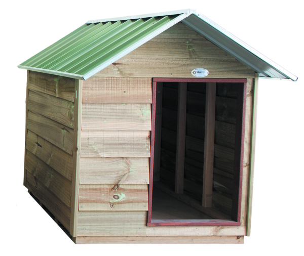 Gable Kennel Wood