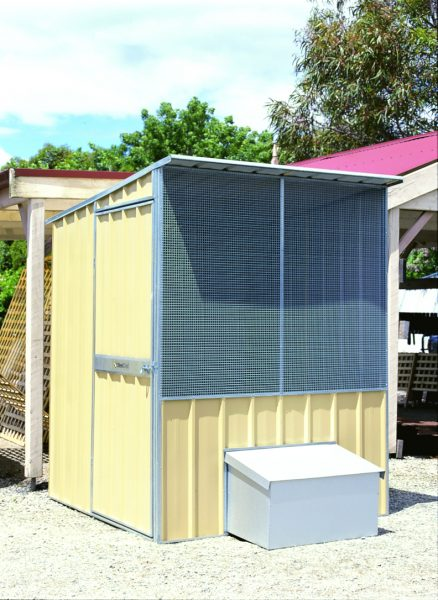 Fowl House with zinc layer box