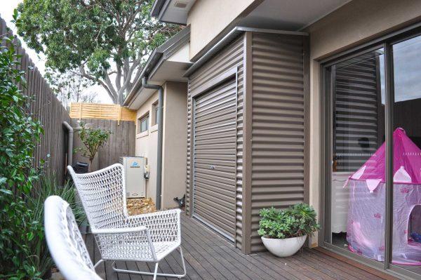 Slimline Roller Door Storage Tight Space
