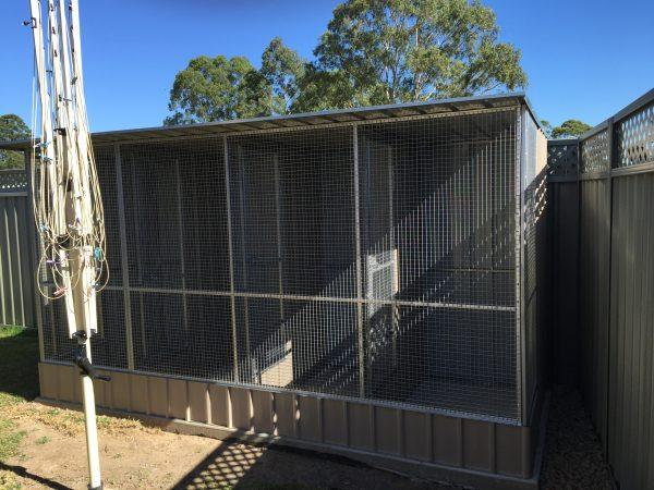 Aviary Separated Enclosures Birds Dividers Wire Dado