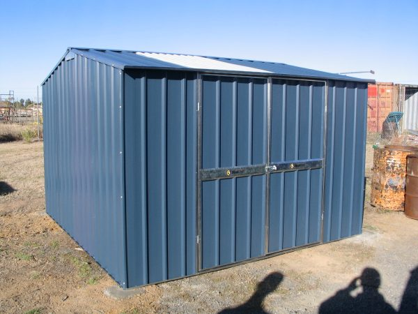 Double Door Gable Garden Shed with Skylight