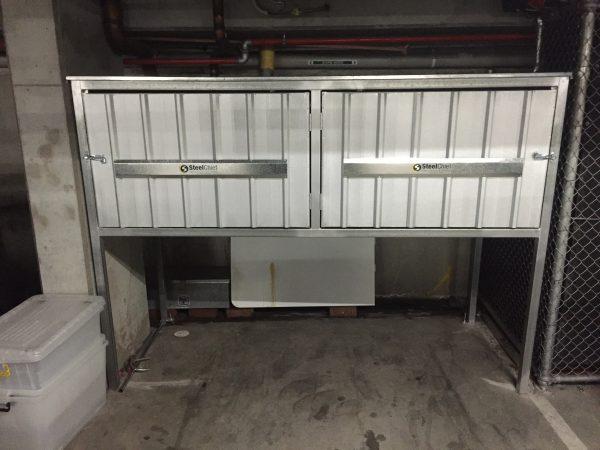 Above Bonnet Car Storage