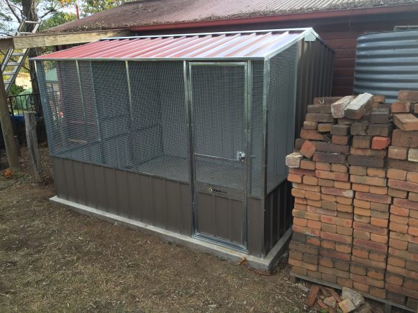Steel Frame Fowl House Gable Chicken Coop