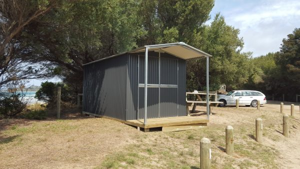 Corrugated Shed with Verandah