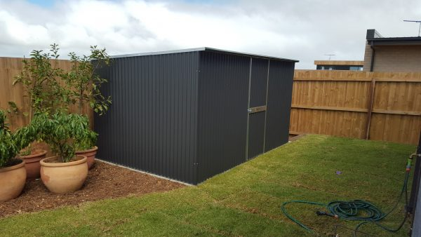 Corrugated shed single hinged Door