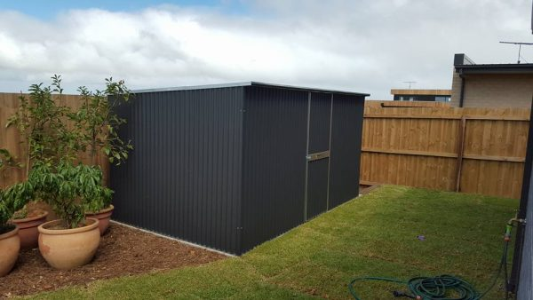Corrugated Shed Backyard Storage