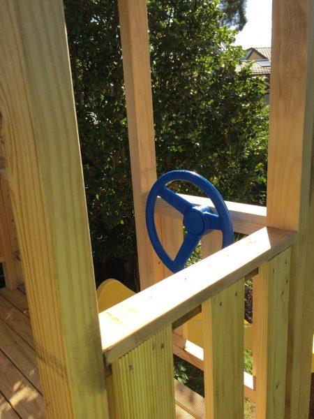 Cubby House Steering Wheel