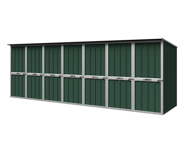 Custom Storage Lockers by SteelChief