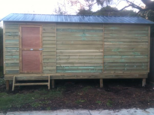 Large Timber Gable Shed with sub floor