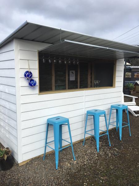 Café Servery Timber Shed
