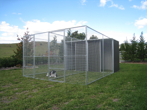 Double Dog Pen / Run for Two Dogs