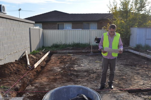 Site Preparation for large shed