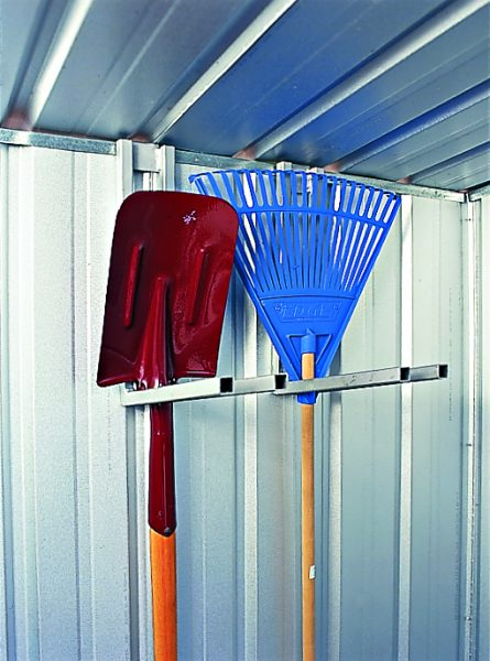 Shovel and broom racks
