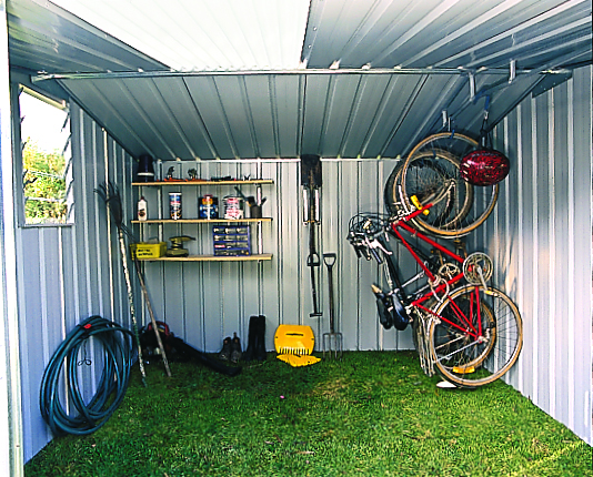 Options in garden shed