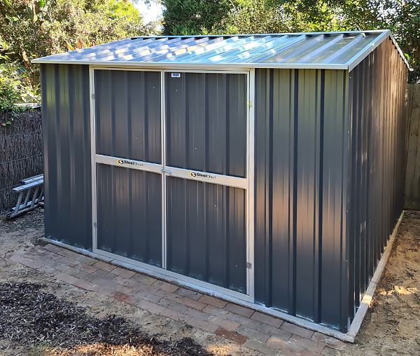 Gable Roof Garden Shed with Double Doors