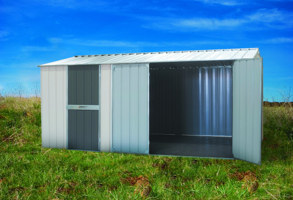 Large Gable Roof Shed with extra doors