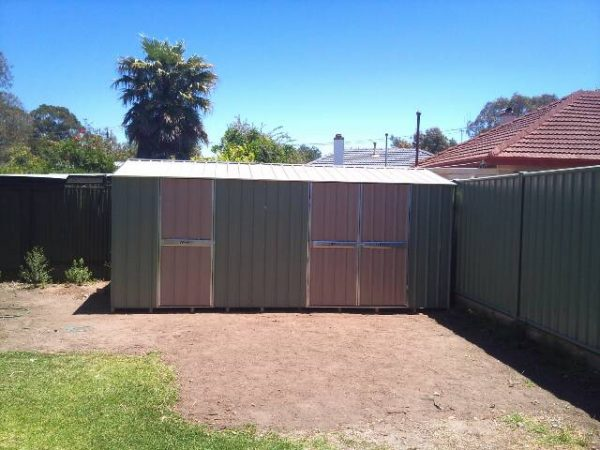 Large Gable Roof Garden shed with extra doors