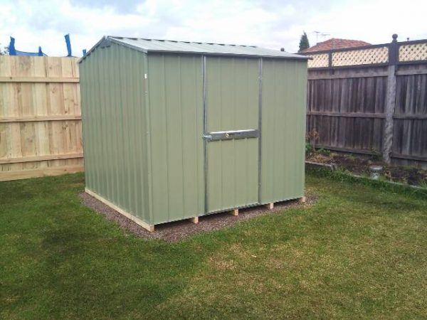 Gable Roof Garden Shed on timber floor