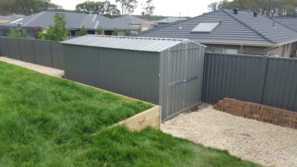 Heavy Duty Garden Shed with Double Doors