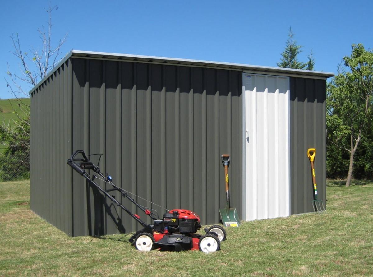 Heavy Duty Skillion Roof Garden Shed