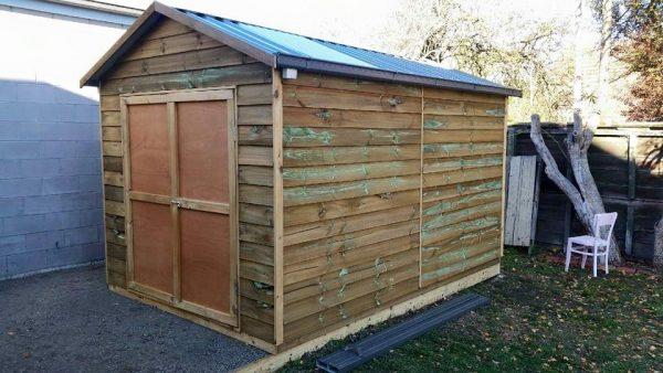 Wooden Shed Pine Workshop