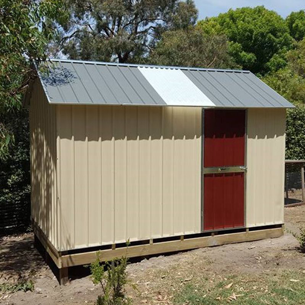 SteelChief Garden Shed with Skylight
