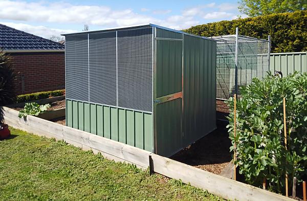 Skillion Roof Chicken Coop
