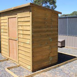 Skillion Roof Timber Sheds title=