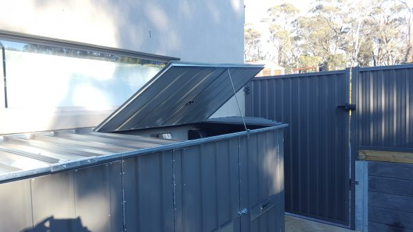 Bin Locker Storage Solution Steel Frame