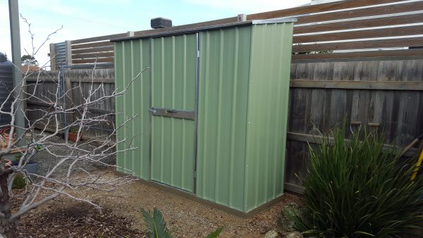 Slimline Garden Shed Tight Space Solution